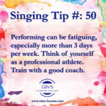 Guy's Singing Tips