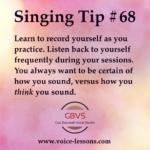 Singing Tips